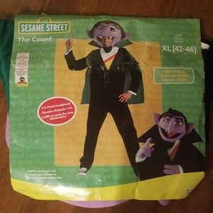 Sesame Street The Count Adult XL (42-46) Costume